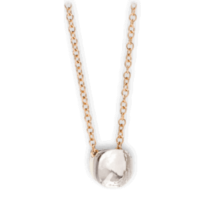 Pomellato Halskette mit Anhänger Nudo Topas PCB6010-O6000-000TB-42
