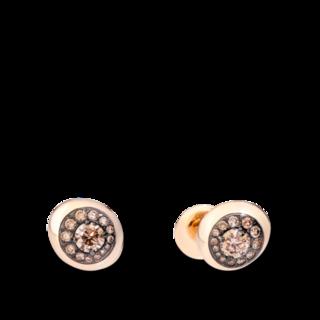 Pomellato Ohrstecker Nuvola POB8130-O7BKR-DBR05