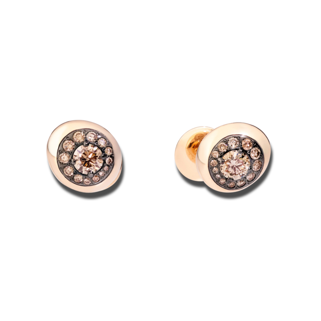 Ohrstecker Pomellato Nuvola aus 750 Roségold mit 28 Diamanten (2 x 0,735 Karat) bei Brogle