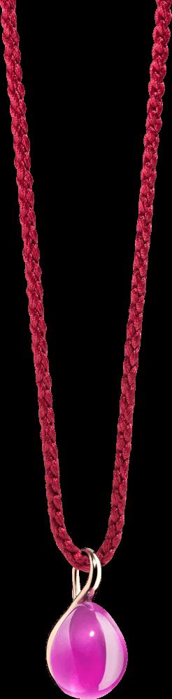 Anhänger Pomellato Rouge Passion aus 375 Roségold mit mehreren Edelsteinen