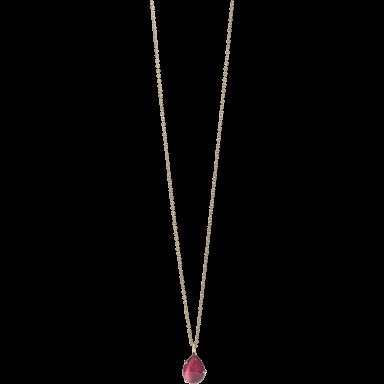 Pomellato Halskette mit Anhänger Rouge Passion F.B505/9SR40
