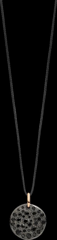 Anhänger Pomellato Sabbia aus 750 Roségold mit mehreren Brillanten (0,6 Karat)