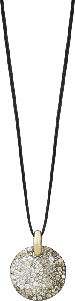 Anhänger Pomellato Sabbia aus 750 Roségold mit Diamant (4,03 Karat)