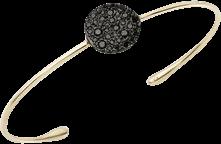 Armreif Pomellato Sabbia aus 750 Roségold mit 37 Brillanten (0,497 Karat) Größe L