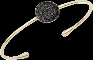 Armreif Pomellato Sabbia aus 750 Roségold mit 37 Brillanten (0,497 Karat) Größe M