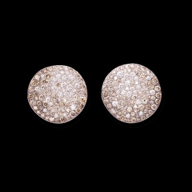 Ohrclip Pomellato Sabbia aus 750 Roségold mit mehreren Diamanten bei Brogle