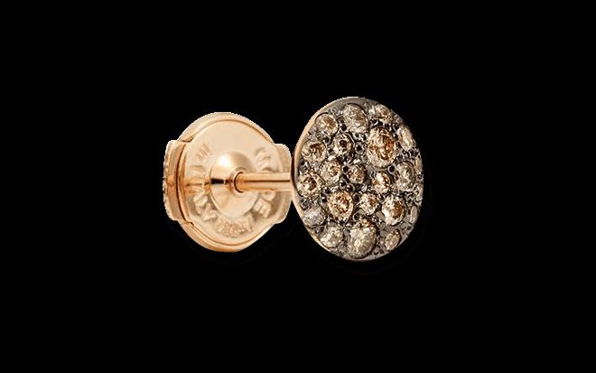 Ohrstecker Pomellato Sabbia aus 750 Roségold mit mehreren Brillanten (2 x 0,12 Karat)