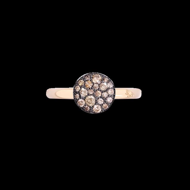 Ring Pomellato Sabbia aus 750 Roségold mit mehreren Brillanten (0,24 Karat) bei Brogle