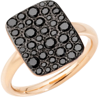 Ring Pomellato Sabbia aus 750 Roségold mit 34 Diamanten (0,66 Karat)