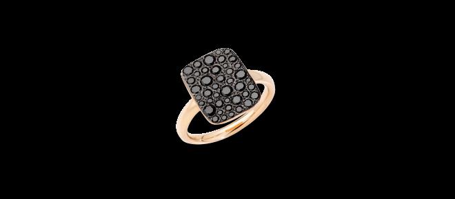 Ring Pomellato Sabbia aus 750 Roségold mit 34 Diamanten (0,66 Karat) bei Brogle