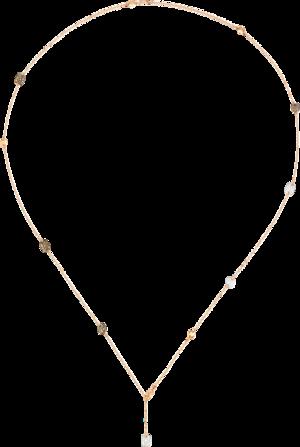 Halskette Pomellato Sautoir Sabbia aus 750 Roségold mit 242 Diamanten (3,3 Karat)