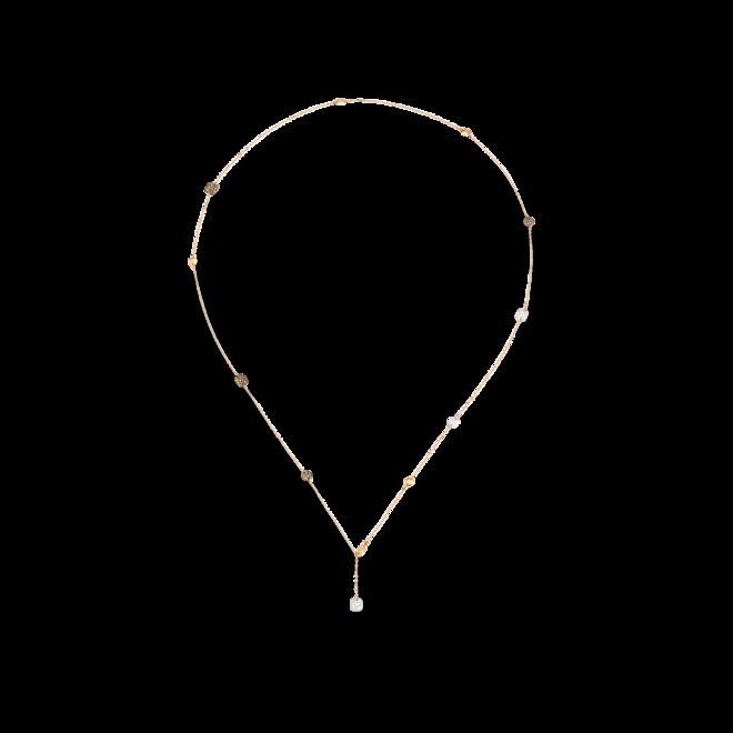 Halskette Pomellato Sautoir Sabbia aus 750 Roségold mit 242 Diamanten (3,3 Karat) bei Brogle