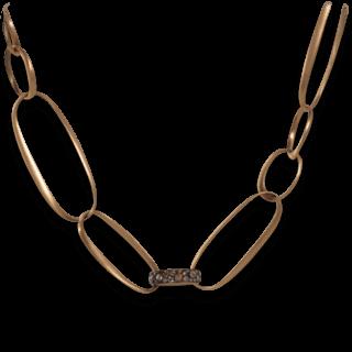 Pomellato Halskette mit Anhänger Tango C.B405WO7/BR/64