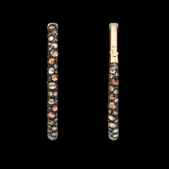 Ohrring Pomellato Tango aus 750 Roségold mit mehreren Diamanten (2 x 2,525 Karat) bei Brogle