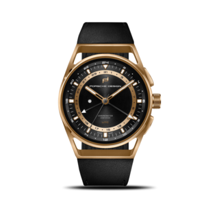 Porsche Design Herrenuhr 1919 Globetimer UTC Gold Edition 42mm 6023.4.06.004.07.2