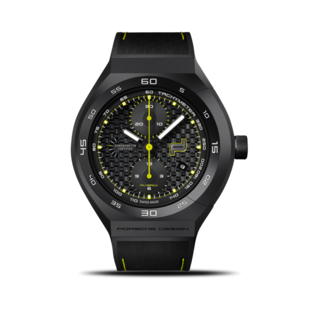 Porsche Design Herrenuhr Monobloc Actuator Chronotimer Flyback Acid Green 6033.6.01.010.06.2