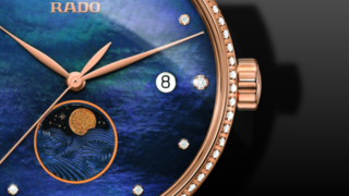 Rado Coupole Classic Mondphase Quarz