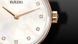Rado Coupole Diamonds S Quarz
