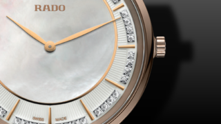 Rado Diamaster Ceramos Thinline Quartz 37,8mm