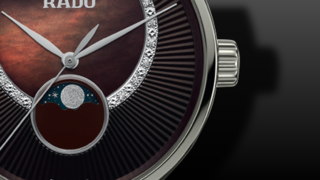 Rado Diamaster Quartz Moonphase 35mm