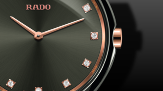 Rado True Thinline Diamonds S Quarz