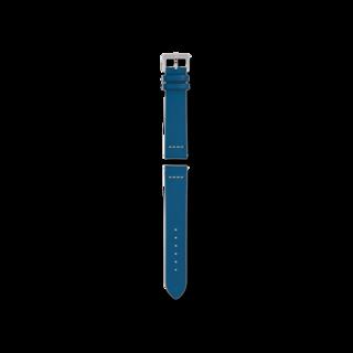 Rado Uhren-Armband Blaues Lederband für die Captain Cook Automatic 37mm R070917501