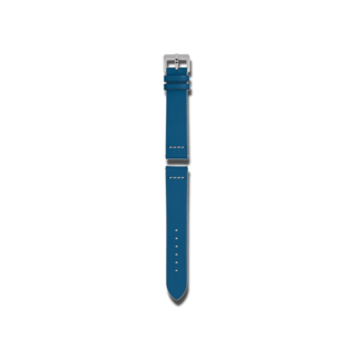 Rado Uhren-Armband Blaues Lederband für die Captain Cook Automatic 42mm R070916801