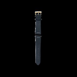 Rado Uhren-Armband Blaues Lederband für die Captain Cook Automatic Bronze 42mm R070913201