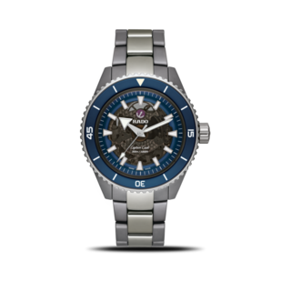 Rado Herrenuhr Captain Cook High-Tech Ceramic 43mm R32128202