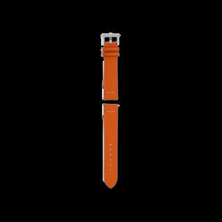 Rado Uhren-Armband Orangefarbenes Lederband für die Captain Cook Automatic 37mm R070917101