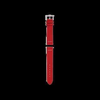 Rado Uhren-Armband Rotes Lederband für die Captain Cook Automatic 37mm R070917201