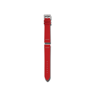Rado Uhren-Armband Rotes Lederband für die Captain Cook Automatic 42mm R070916501
