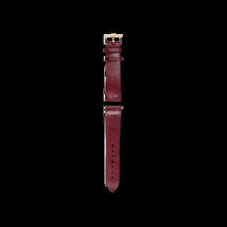 Rado Uhren-Armband Rotes Lederband für die Captain Cook Automatic Bronze 42mm R070915901