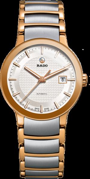 Damenuhr Rado Centrix S Automatik mit silberfarbenem Zifferblatt und Edelstahlarmband