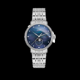 Rado Damenuhr Coupole Classic Mondphase Quarz R22882903
