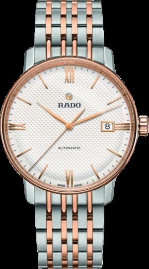 Herrenuhr Rado Classic mit weißem Zifferblatt und Edelstahlarmband