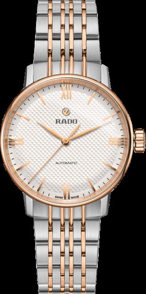 Damenuhr Rado Classic mit weißem Zifferblatt und Edelstahlarmband
