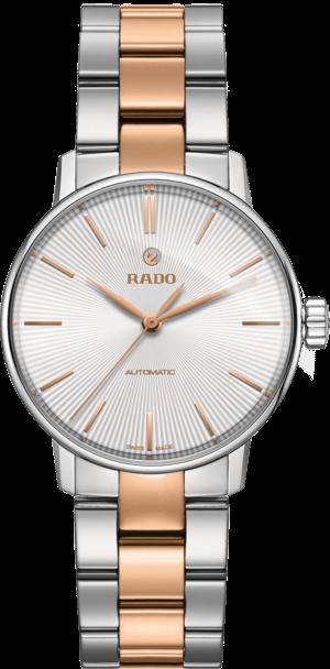 Damenuhr Rado Coupole Classic S Automatik mit weißem Zifferblatt und Edelstahlarmband