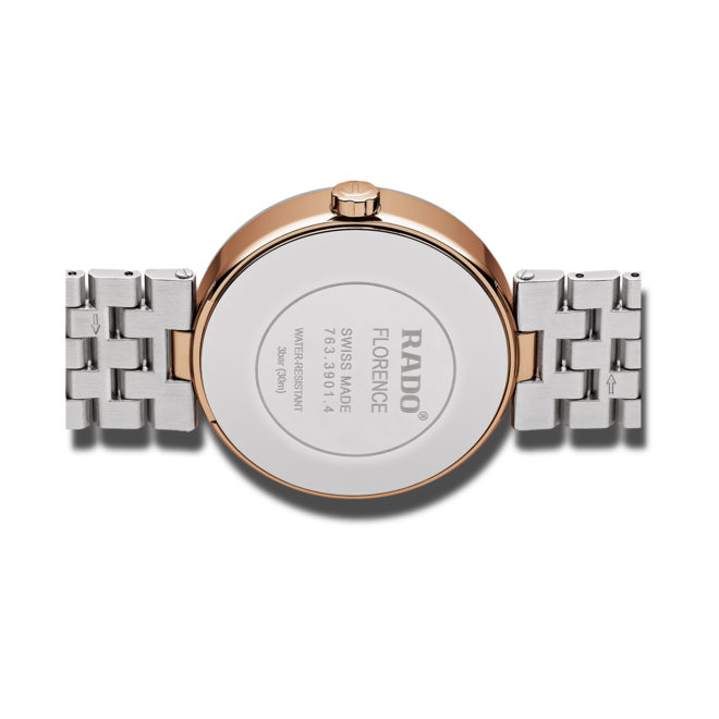 Herrenuhr Rado Automatic Diamonds mit Diamanten, silberfarbenem Zifferblatt und Edelstahlarmband bei Brogle