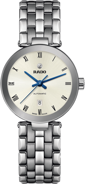 Armbanduhr Rado Florence Automatic mit silberfarbenem Zifferblatt und Edelstahlarmband