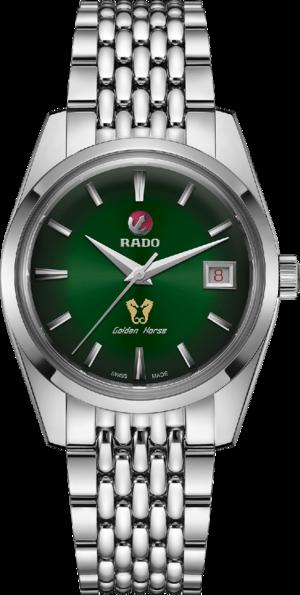 Herrenuhr Rado HyperChrome Classic mit grünem Zifferblatt und Edelstahlarmband