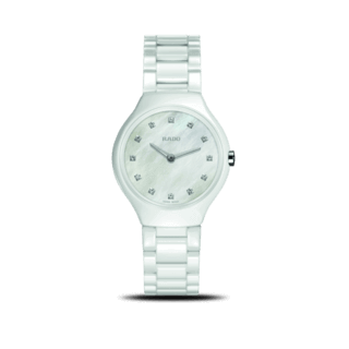 Rado Damenuhr True Thinline Diamonds S Quartz R27958912