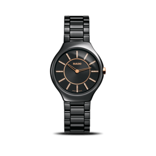 Rado Armbanduhr True Thinline Diamonds S Quarz R27742702