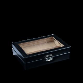 Sacher Etui Für 6 Taschenuhren - Schwarz 70028-16