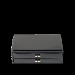 Sacher Sacher Schmuckkästchen Vario Kolliers- & Armbandbox - Schwarz 70028-28