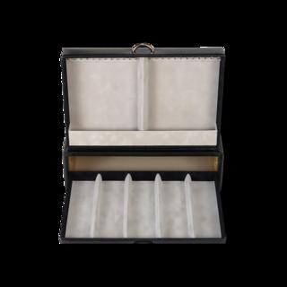 Sacher Schmuckkästchen Vario Ketten- und Armbandbox - Schwarz 70028-22