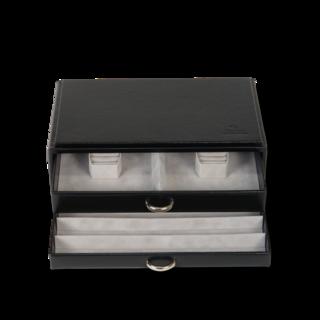 Sacher Schmuckkästchen Vario Schmucksetbox - Schwarz 70028-23