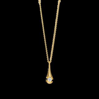 Schaffrath Halskette mit Anhänger Calla CALD3-C-GG-0.3GSI