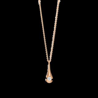 Schaffrath Halskette mit Anhänger Calla CALD3-C-RG-0.15GSI
