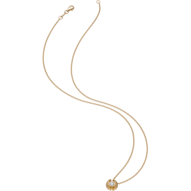 Schaffrath Halskette mit Anhänger Calla CALL2-C-GG-0.30GSI-42
